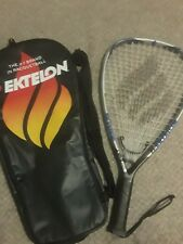 Ektelon Revenge 1000 racquet F3 Aerolite Alloy Frame longbody powering w/ bag