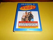 Seinfeld - Season 3 (DVD, 2004, 4-Disc Set) Brand New; Sealed + I Ship Faster