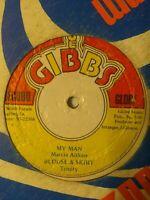 "Marcia Aitken / Trinity – My Man / Blouse & Skirt 12"" Vinyl Single"