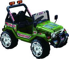 Auto Elettrica per Bambini Jeep Militare 12V per Bambini Con telecomando