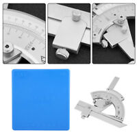 Universal Winkelmesser Protractor 0-320° Präzision Abschrägung Winkel Messen