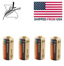 4x 2/3 AA NI-Cd Batteries Rechargeable 1.2 V Volt 150 mAh Reusable Chargeable