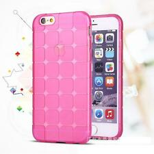 Shockproof Silicone/Gel/Rubber Clear Case Cover For Apple iPhone 6 6S 5C SE 7 8