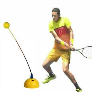 Portable Tennis Training Practice Trainer Swing Tool Ball J9A0 Machine K9U0 G3L6