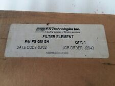 New listing Pti technology Pg-050-Gh filter element Lot of 3