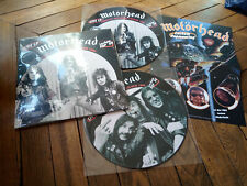 MOTORHEAD Complete recording Lochem 80 2LP Picture disque Gatefold & Poster