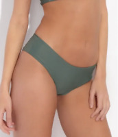MIKOH Bondi Boyshort Green Bikini Bottoms Size Small 57960