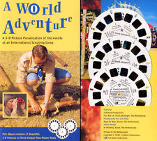 18'th. World Boy Scouts Jamboree Holland World of Adventure View-Master Packet
