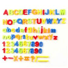Magnetic Alphabet Magnets Letters and Numbers Toy ABC 123 Fridge Plastic Toy Set