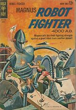 MAGUS ROBOT FIGHTER #3 FN- GOLD KEY/WESTERN COMICS!