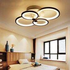 LED Acrylic Chandelier Lighting Ring Ceiling Hanging Lamp Pendant Light Fixture