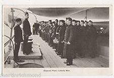 Channel Fleet, Liberty Men, Naval Postcard, B516