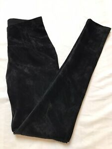 Women's Softshell Leggings Size XS Black