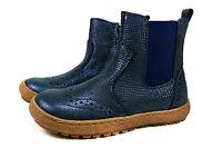 Bisgaard Herbst Stiefel Kinder Boots Leder Chelsea Schuhe Gr.24-32 Blau 50702216