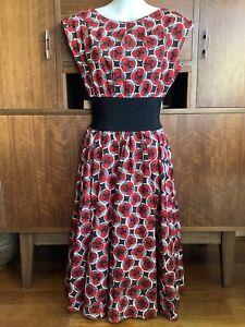 easton pearson geometric print dress Size 8AU (small fit)