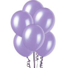 "15 pcs 12"" Metallic Purple Colour Latex balloons birthday party celebrations"