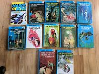 Lot Of 12 Hardy Boys Books ~ 11 Hardcover & 1 Softcover