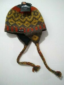 Everest Designs Wool Hat Hand Made In Nepal O/S unisex