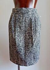 MAX MARA Black&White Runway Skirt size USA 4_ I 38_D 34_GB 6_ F 36