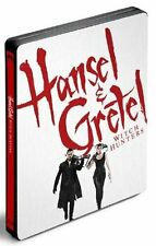 Hansel & Gretel Witch Hunters Steelbook Edition Blu-ray France Exclusive NEW