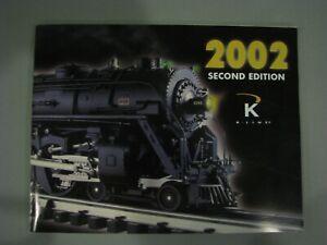 K-Line Catalog 2002 - Second Edition