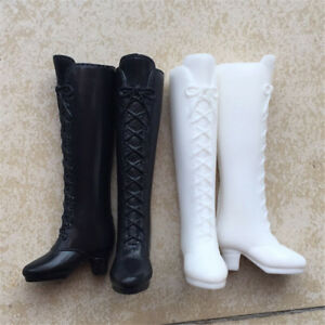 Long Boot Casual High Heels Cute Shoes Clothes For  Doll Dress Accessor_cd