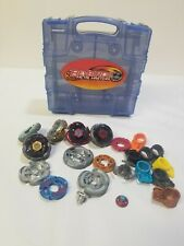 Beyblade Metal Masters Hasbro Lot With Carrying Case