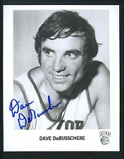 Dave DeBusschere Signed 8 x 10 Photo Autographed New York Knicks