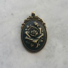Copper Rose Pendant – Baroque - Steampunk - Gothic