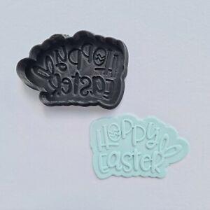 Hoppy easter cookie cutter embosser set stamp fondant baking decorate bake tools