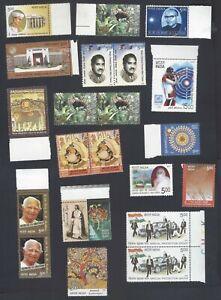 AOP India commemoratives MNH x 100