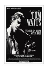 Tom Waits 1979 Cleveland Concert Poster