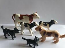 Playmobil Tiere zu Bauernhof Kühe 4490 3072 5119 Hunde Katze