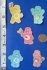 CUTE!! CARE BEARS CHARACTERS SM. - IRON ON FABRIC APPLIQUÉS - IRON ONS -PATCHES