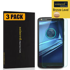 [3-PACK] SOINEED Motorola Droid Turbo 2 XT1585 Tempered Glass Screen Protector