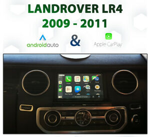 Land Rover Discovery 4 2009 - 2011 Apple CarPlay & Android Auto Integration