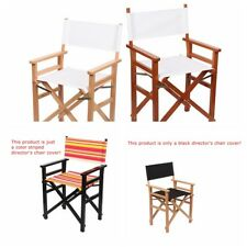 Casual Replacement Directors Chairs Cover Canvas Seat Covers Set Outdoor Garden