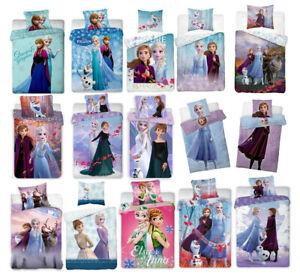 Disney FROZEN Die Eiskönigin Kinderbettwäsche Bettwäsche 135x200 140x200