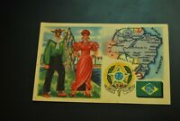 Vintage Cigarettes Card. BRASIL. REGIONS OF THE WORLD COLLECTION. (Rare).