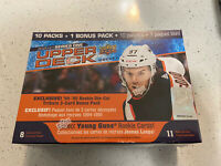 2020-21 Upper Deck Series 1 Hockey Mega Box - Alexis Lafreniere - Factory Sealed