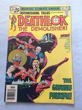 Marvel Comics Astonishing Tales Deathlok The Demolisher # 36 1976 Comic Book