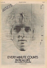 MAGAZINE - REAL LIFE ADVERT press clipping 1978 30x40cm (17/06/78)