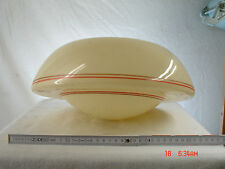 Lampenschirm  Opalglas  cremefarben Art Deco für Stabpendelleuchte Lampe