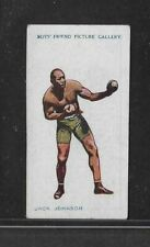 1911 BOYS FRIEND BOXING JACK JOHNSON FAMOUS BOXERS RARE CARD