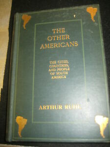 LIBRO: THE OTHER AMERICANS - RUHL - MITCHELL'S BOOK STORE *****