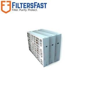 """Filters Fast 4"""" HVAC 3-PACK MERV 13 Air and Furnace Filters Several Sizes"""