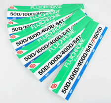 FUJI FUJICHROME STICKERS SET OF 6