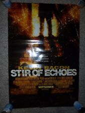 Stir Of Echoes 1999 ORIGINAL 1-SHEET POSTER Autographed by KEVIN BACON  EX-