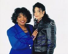 OPRAH WINFREY signed autographed w/ MICHAEL JACKSON photo