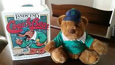 Lands' End Gund Teddy Bear Coach Paul Bear Limited Edition 1991 Plush With Box